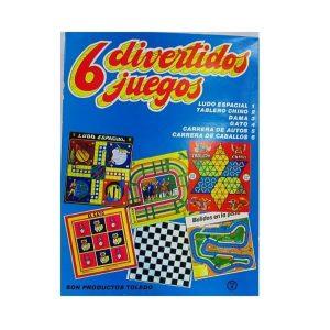 Juego de mesa «6 divertidos juegos «