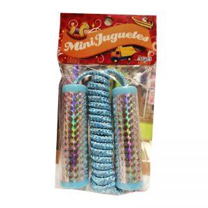 Mini juguetes argos cuerda de saltar «Celeste»