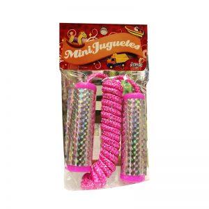 Mini juguetes argos cuerda de saltar «rosado»