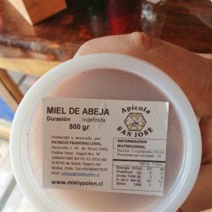 MIEL MULTIFLORAL 1/2 KG