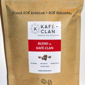 BLEND de Kafé-Clan 250 grs. molido/grano