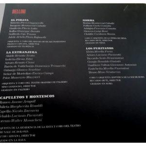 Grandes Maestros de la Ópera Bellini
