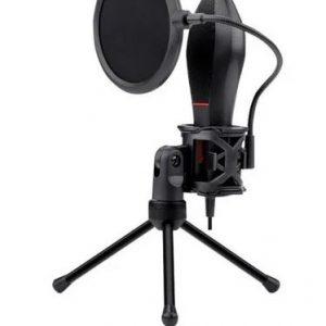 Micrófono Redragon Quazar GM200 condensador omnidireccional negro