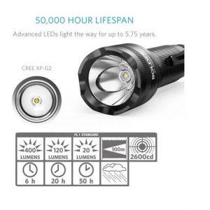 Linterna Anker Led Lc40 Recargable